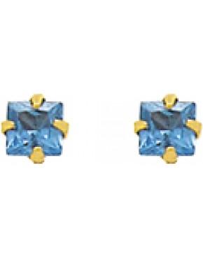 Brinco pedra quadrada - 0023950
